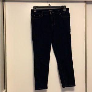 New D.Jeans dark blue jeans